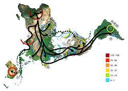 帆人の古代史メモ103  「人類の旅」と「三大穀物単一起源説」