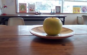 【青りんごのクレープ】