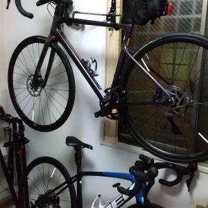 自転車が落ちた(@@;