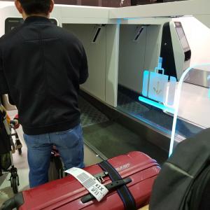 日本一時帰国①空港でベビーカーを忘れる