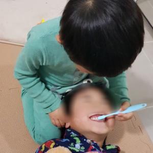 3歳4ヶ月☆シャイボーイ