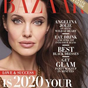 アンジェリーナ・ジョリー Harper's Bazaar Magazine☆★☆