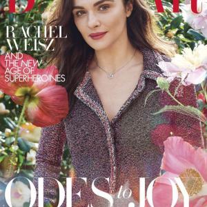 レイチェル・ワイズ Harper's Bazaar UK June 2020