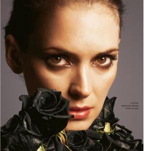 ウィノナ・ライダー Grazia Magazine, Italy July 2020