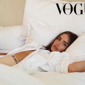 オリビア・カルポ Vogue Magazine, India July 2020☆