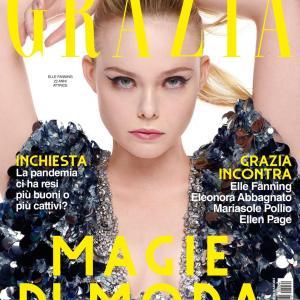 エル・ファニング Grazia Magazine Italy August 2020 Issue