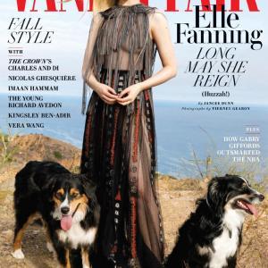 エル・ファニング Vanity Fair October 2020 Issue