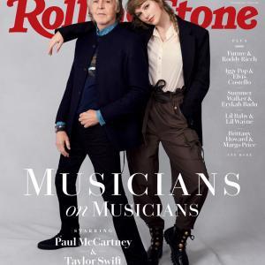テイラー・スウィフト ポール・マッカートニー Rolling Stone Magazine