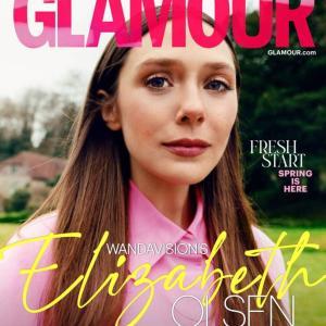 エリザベス・オルセン Glamour Magazine UK April 2021