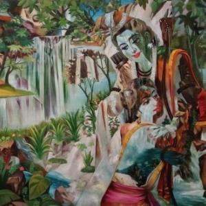 滝の霊性と横尾忠則