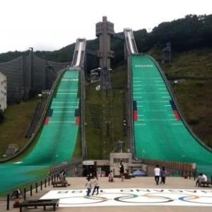 オリンピックの夢の跡