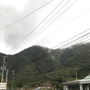 台風の、その後。「天栄健康ウォーク」中止も。
