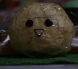 みんなで、キャラメルアーモンドデニッシュを食べる♪\(^▽^)