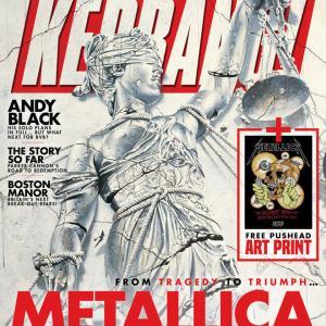 KERRANG!誌にてリリース30周年を迎えた『...And Justice For All』特集