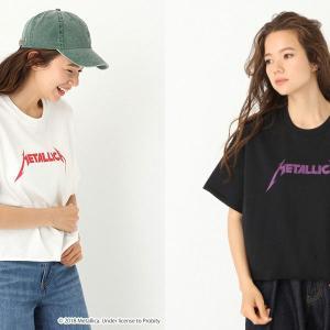 ニコアンド(niko and ... )、エヴリス(EVRIS)でメタリカTシャツ販売