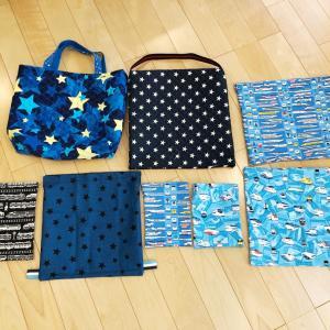 ♪ハンドメイド♪入学準備〜袋物