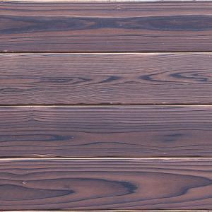 焼杉 内装用羽目板 節無し上小 塗装 前田木材 YS21