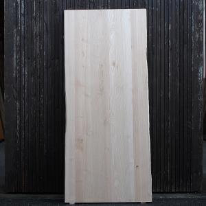 栗 耳付板風 巾はぎ板 前田木材