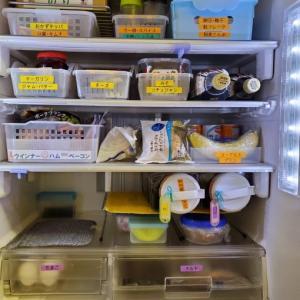冷蔵庫収納。