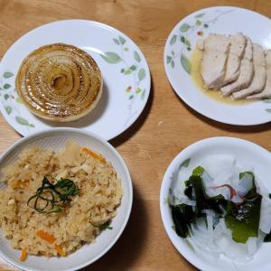 タケノコご飯。