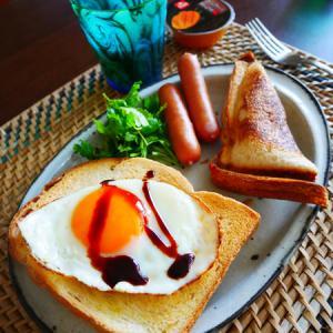 朝ごぱん。