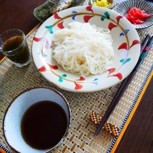素麺、冷やし中華などなど。