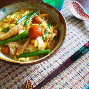かき玉蕎麦、カレーにグラタン。