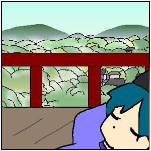 源氏物語イラスト訳【若紫76-1】うち臥し