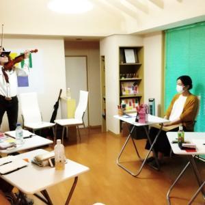 ご報告☆キャリアアップ実行委員会前進フェスタのデモ演奏体験