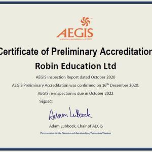 ついにAEGISの認可が取れました!!