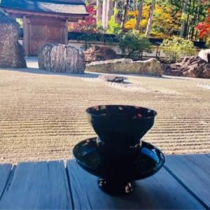 高野山 金剛峯寺 奥殿と、鎌倉の展示会お礼。
