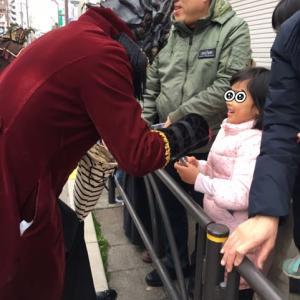 Krampus 板橋のパレードにAmiliyah出現! そして娘 大泣き(笑)