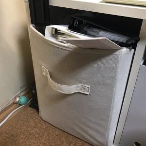 無印良品のファイルボックスに交換