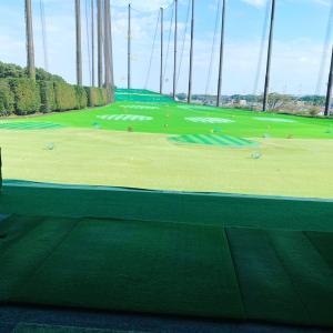 ゴルフ打ちっぱなしデビュー