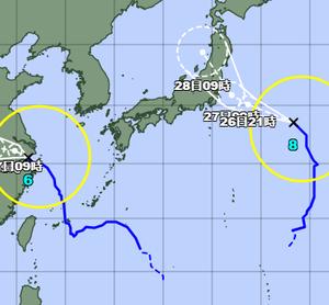 令和3年7月の台風8号