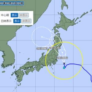 続々:令和3年7月の台風8号
