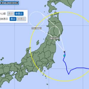 続々々:令和3年7月の台風8号