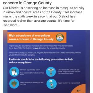 オレンジカウンティを侵略するもの。