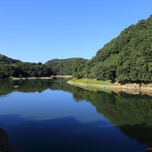 長柄ダムの風景
