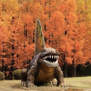 太古の森の恐竜