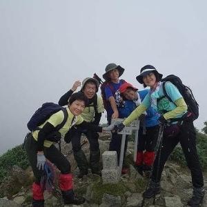 WOC登山部2020.07.29 伊予富士~西黒森山