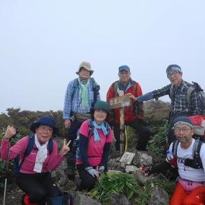 WOC登山部2020.09.16 岩黒山・筒上山
