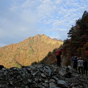WOC登山部2020.10.28 御来光の滝