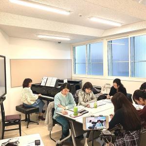 ピアノコード奏法講師養成・実践型プログラム第三期!始まってます。