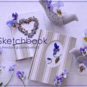 刺繍の小さなノート