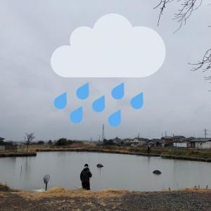 雨降りでした!