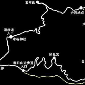 【若草山ハイキング】春日山遊歩道~春日山原始林周遊コース~