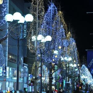 札幌☆大通り☆街イルミネーション