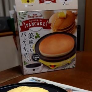 パンケーキ作り