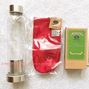 ギフトにも最適♪カラダに良いお茶を携帯できるタンブラー付きお茶セット【 H&F BELX 】